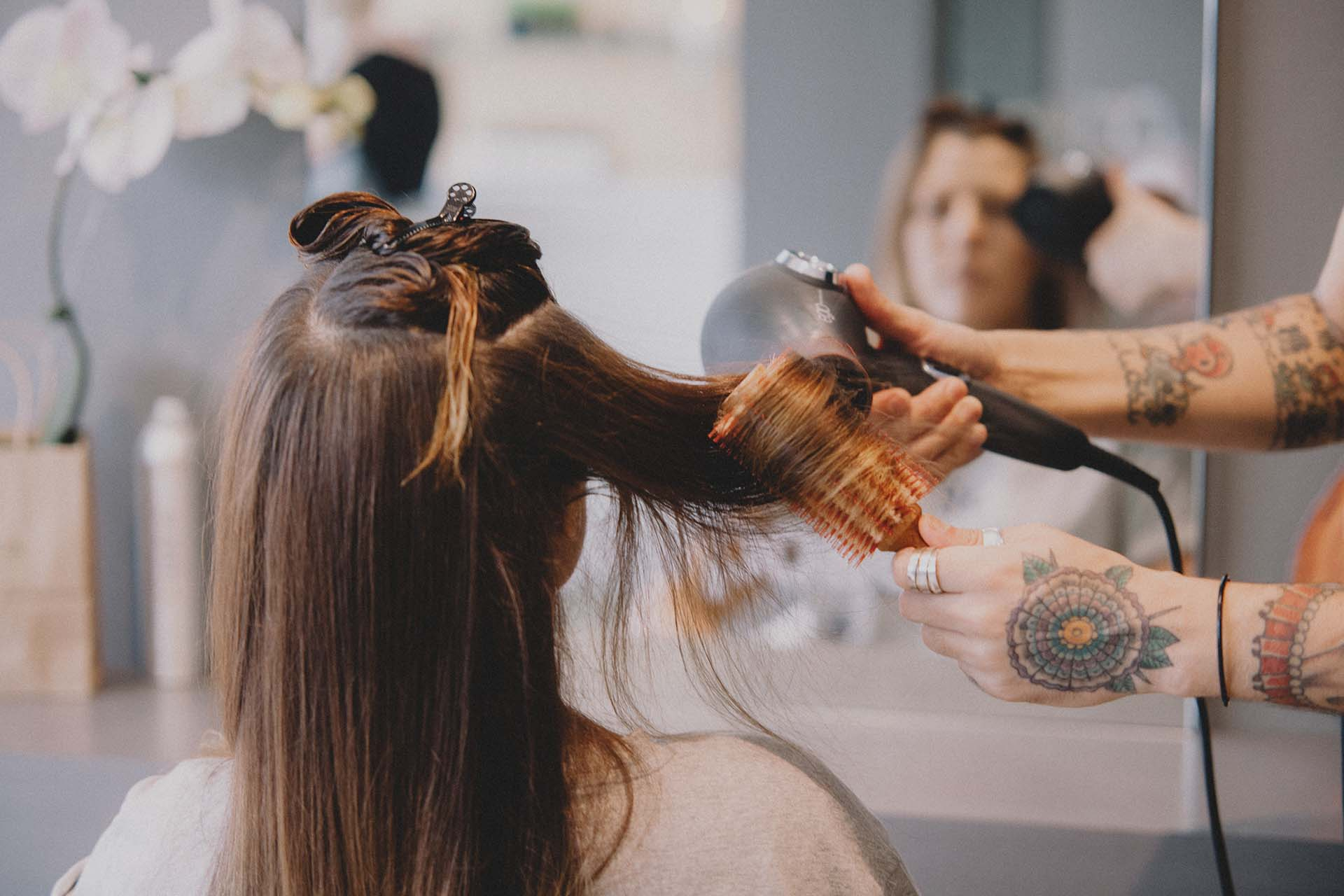 Our Talented Team of Stylists will customise a look for you